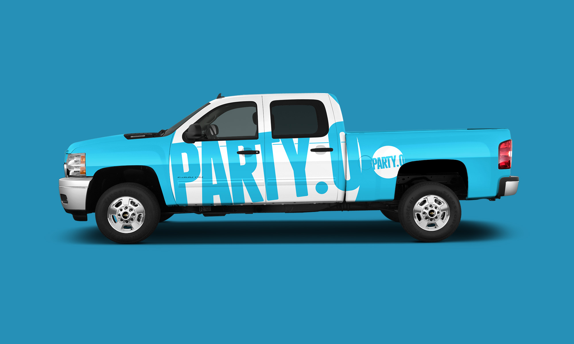 Party.0 truck wrap